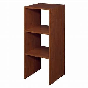 Shop ClosetMaid 12-in Cherry Laminate Stacking Storage at
