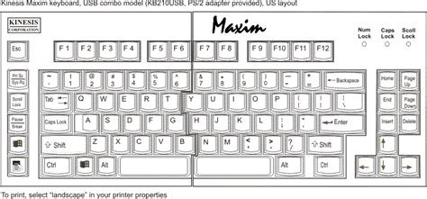 Kinesis Maxim Adjustable Keyboard (kb210)
