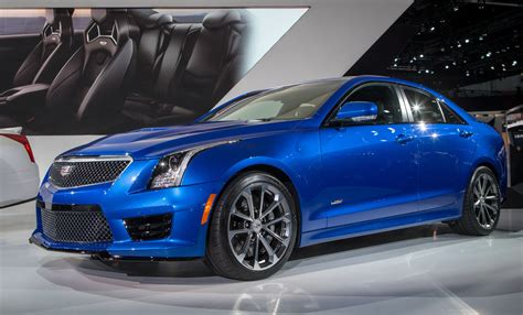 2018 Cadillac Ats V Coupe Car Interior Design