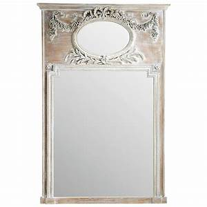 Miroir 160 Cm : miroir trumeau en sapin h 160 cm mirano maisons du monde ~ Teatrodelosmanantiales.com Idées de Décoration