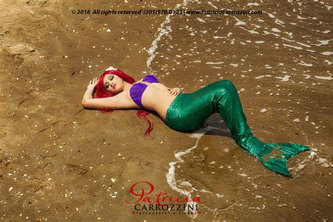 mermaid themed quinceanera photo session