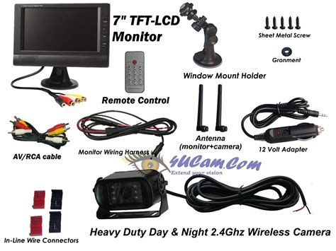 Car Monitor Wiring Diagram by 7 Tft Lcd Monitor Wiring Diagram Circuit And Schematics