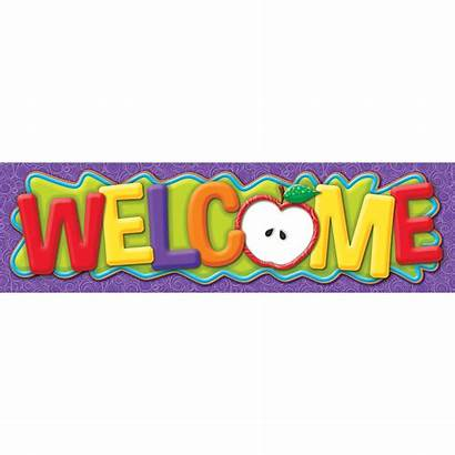 Banner Welcome Classroom Eu Banners Theme Larger