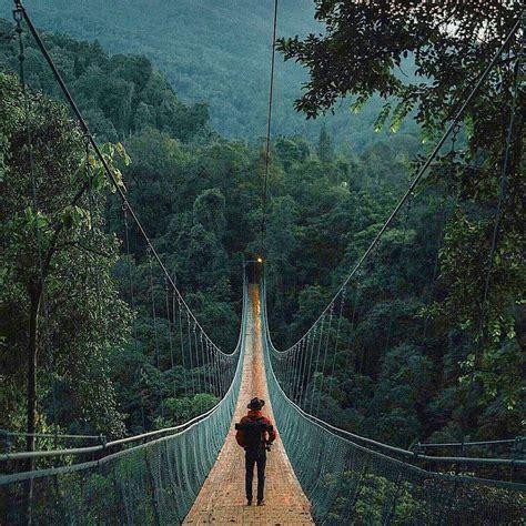 harga tiket masuk jembatan gantung  gunung sukabumi