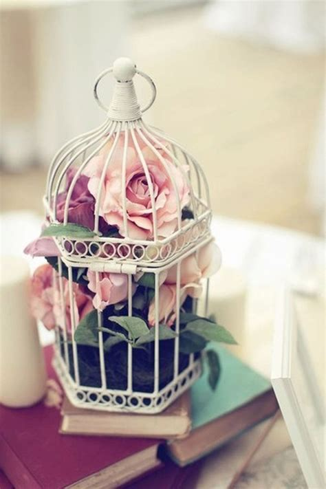 flower birdcage decorations home design  interior