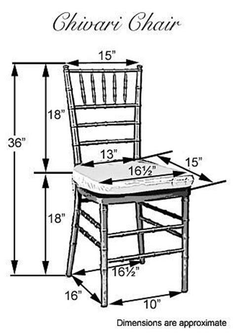 chiavari chair dimensions wedding chairs