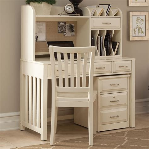 white office desk with hutch liberty furniture hton bay white home office desk