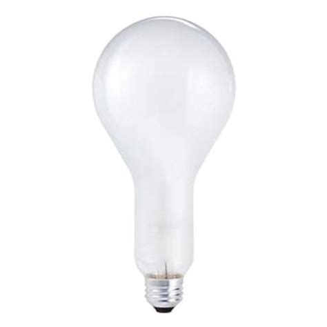 philips 200 watt incandescent ps30 silicone coated frosted