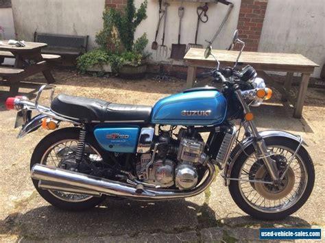 1976 Suzuki Gt750 by 1976 Suzuki Gt750 For Sale In The United Kingdom