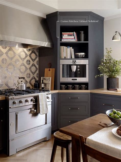 corner kitchen cabinet solutions organizing kitchen