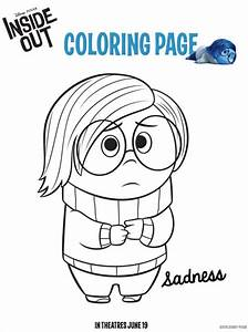 inside out coloring pages - disney pixar inside out coloring pages and activity sheets