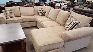 Fairhaven cream colored u shaped sectional with chaise for U shaped sectional sofa india