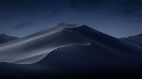 wallpaper macos mojave night dunes wwdc   os