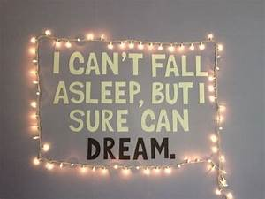 tumblr rooms | Tumblr DIY: wall quote, and lights | dream ...