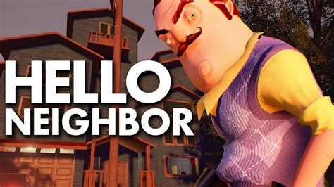 hello neighbor stealth horror demo