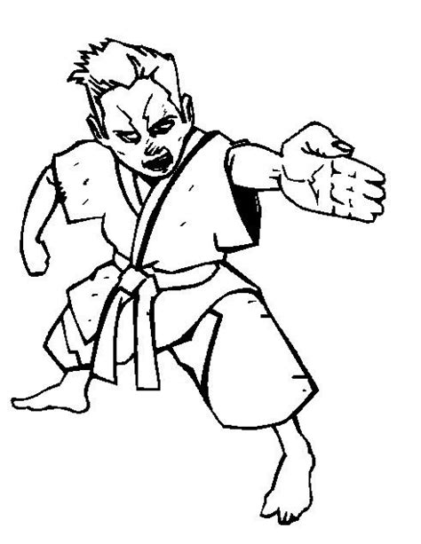 kids  funcom  coloring pages  karate