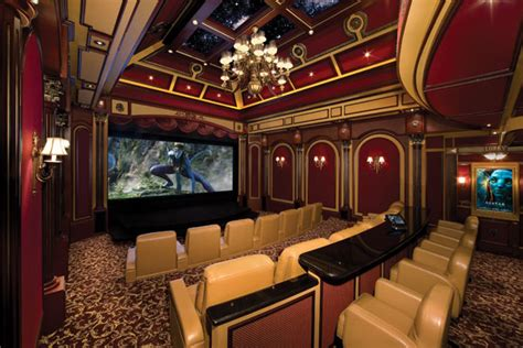 cayman islands theater includes real balcony audioholics