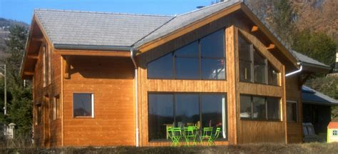 chalet d habitation en kit photo de chalet en bois l habis