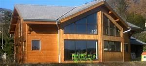 Chalet En Bois Habitable Livré Monté : photo de chalet en bois l 39 habis ~ Dailycaller-alerts.com Idées de Décoration