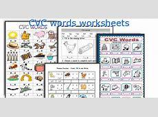 Kindergarten Cvc Printables Worksheets for all Download