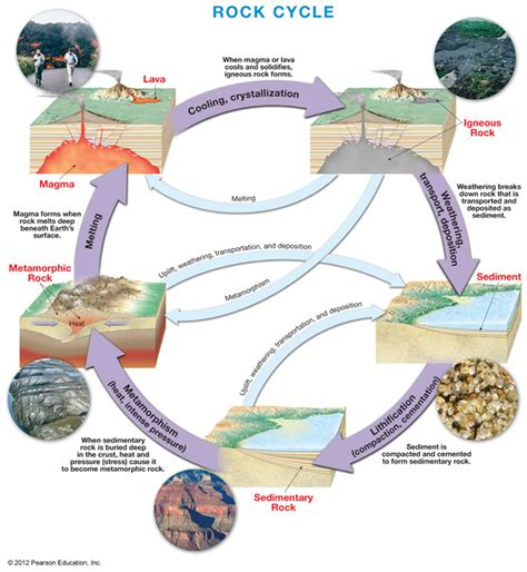 Rock Cycle Diagram To Label 6th grade science 1st six weeks week 3 the rock cycle