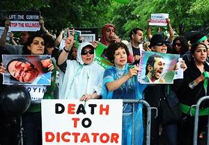Protesters at UN urge support of Iran in troubled time ...