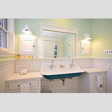 Kids' Bath Brockway Sink  Traditional Bathroom
