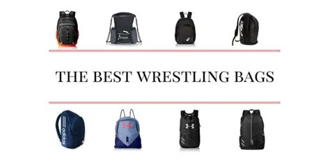 Best Wrestling Bags And Backpacks