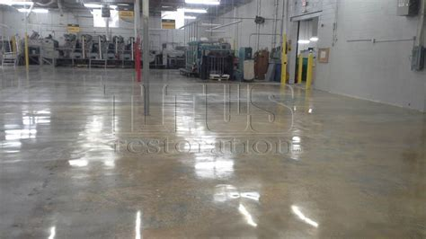 Affordable Warehouse Polished Concrete   Hybrid Concrete