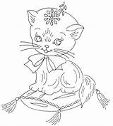 Embroidery Hand Flickr Patterns Jamboree Juvenile Cat Coloring Pattern Para Sew Pages Patrones Recent Designs Pro Daisy Articulo sketch template