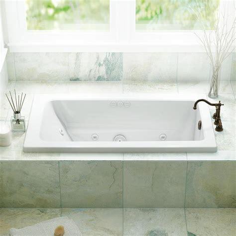 jacuzzi primo   white acrylic rectangular reversible