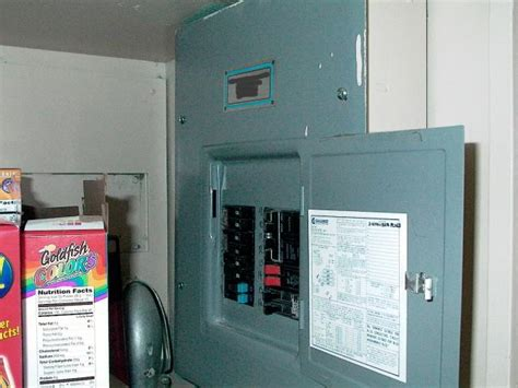 panel in a pantry ecn electrical forums