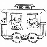 Caboose Train Coloring Template Drawing Pages Getdrawings Templates sketch template