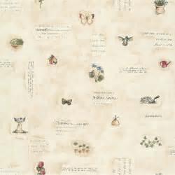 papier peint fleurs des chrs beige papier cuisine et