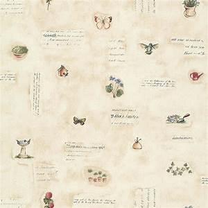 Décolleuse De Papier Peint : papier peint fleurs des champrs beige papier cuisine et ~ Dailycaller-alerts.com Idées de Décoration