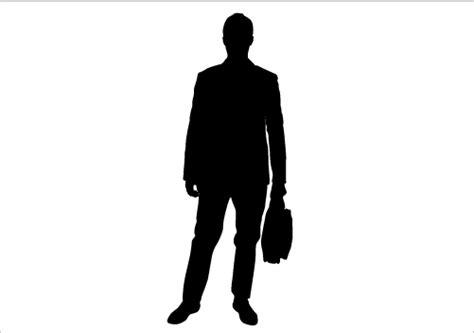 Man Silhouette Standing