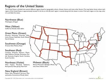 regions of the united states 5th grade social studies social studies worksheets social