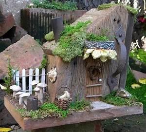 Kreative Ideen Für Den Garten : kleines haus gartendeko ideen kleine g rten feen welt ~ Lizthompson.info Haus und Dekorationen