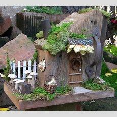 Kleines Haus Gartendeko Ideen Kleine Gärten  Feen Welt