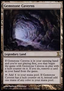 gemstone caverns mtg card