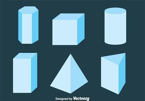 Bild Geometrische Formen by 3d Geometrische Formen Sammlung Vektor Kostenlose Vektor