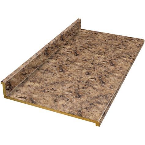 shop vti fine laminate countertops 10 ft milano amber