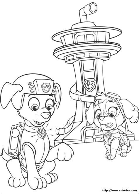 pat patrouille 31 dessins anim 233 s coloriages 224 imprimer