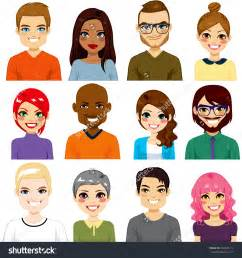 Different People Clip Art