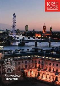 Postgraduate Guide 2016 By King U0026 39 S College London