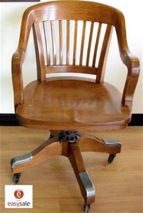 antique oak swivel desk chair milwaukee co 1914 antique
