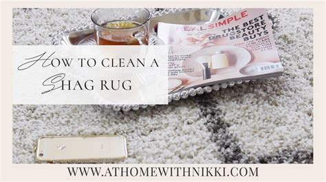 cleaning shag rug home decor