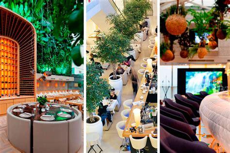 feng shui decor ideas para decorar restaurantes con plantas