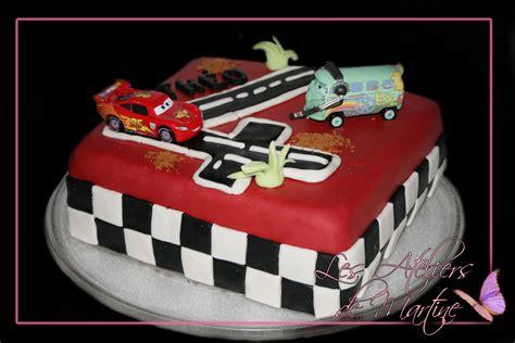 mon g 226 teau cars pour l anniversaire de th 233 o 4 ans cakes cake