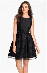 Black Fit and Flare Dresses